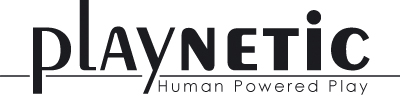 Logo PLaynetic - Human Powered Play